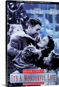 Its A Wonderful Life 1946 Wall Art Canvas Prints
