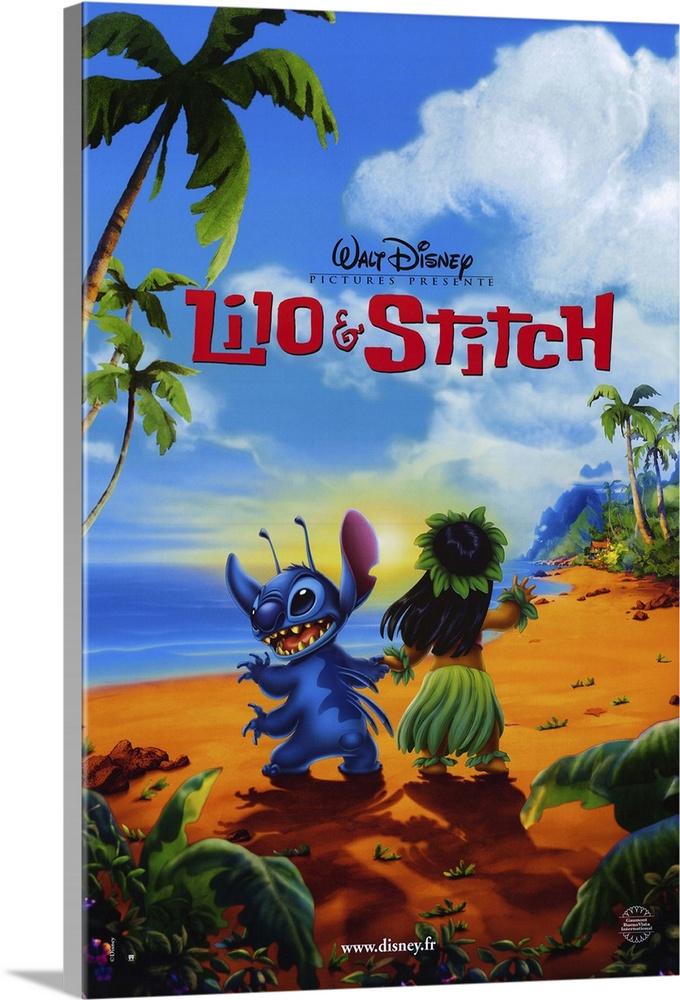 Lilo Stitch 2002 Wall Art Canvas Prints Framed Prints Wall Peels Great Big Canvas