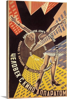 Living Russia, or The Man with a Camera (1929)