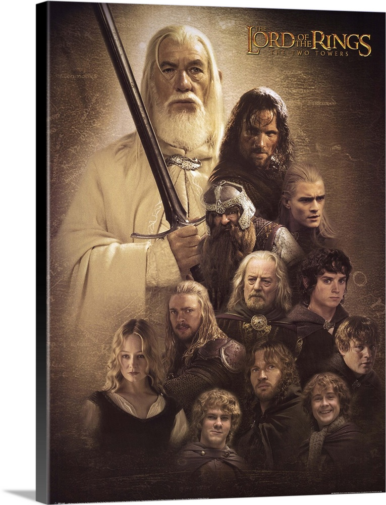 Lord Of The Rings The Two Towers 2002 Wall Art Canvas Prints Framed Prints Wall Peels Great Big Canvas