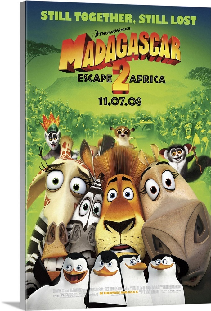 Madagascar: Escape 2 Africa - Movie Poster