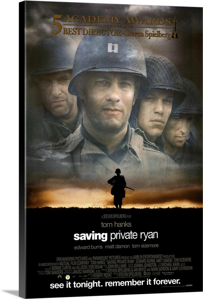 Saving Private Ryan 1998 Wall Art Canvas Prints Framed Prints Wall Peels Great Big Canvas