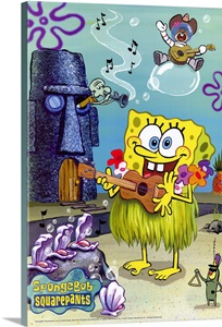 Spongebob Squarepants 2003 Wall Art Canvas Prints