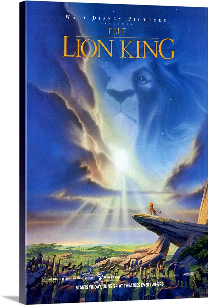 The Lion King 1994 Wall Art Canvas Prints Framed Prints Wall Peels Great Big Canvas