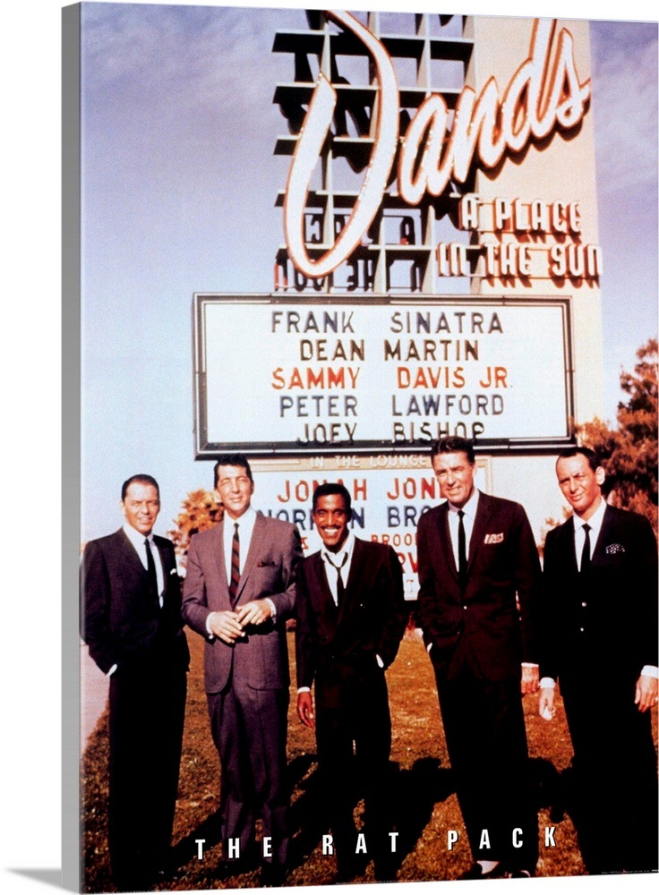 The Rat Pack 1967 Wall Art Canvas Prints Framed Prints Wall
