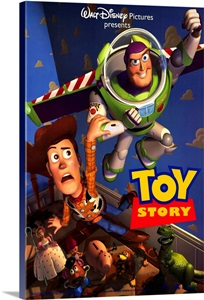 Toy Story 1995 Wall Art Canvas Prints Framed Prints