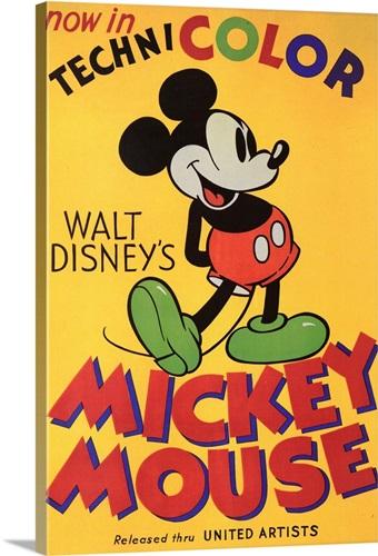Walt Disneys Mickey Mouse (1932) Wall Art, Canvas Prints, Framed ...