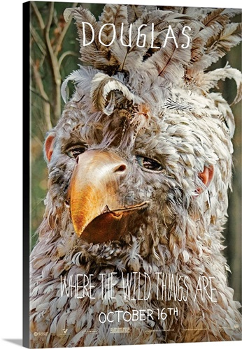 Where the Wild Things Are - Movie Poster - UK Wall Art, Canvas ...
