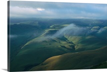 Aerial view of South Africa, Natal-Drakensberg Park, Republic of South Africa