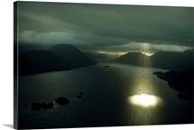 Dusky Sound near the southwestern tip of South Island, New Zealand