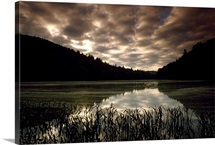 Killbuck Lake at sunset, West Virginia