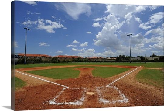 Baseball field in Miami, Florida
