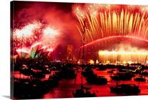New Year's, Sydney Harbour, Australia