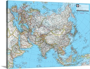 Ngs Atlas Of The World Eighth Edition Political Map Of