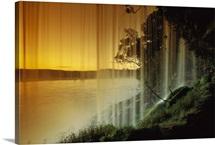 Salto Hacha Waterfall, Canaima National Park, Venezuela