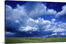 Storm clouds in South Dakota
