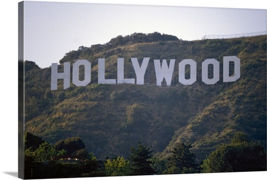 The Hollywood sign Wall Art, Canvas Prints, Framed Prints, Wall ...