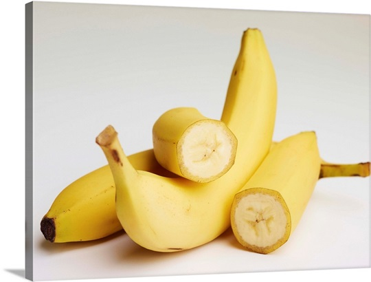 Three bananas Wall Art, Canvas Prints, Framed Prints, Wall Peels ...