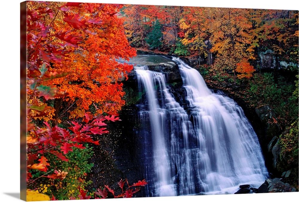 Waterfall in Cuyahoga National Recreation Area, Ohio