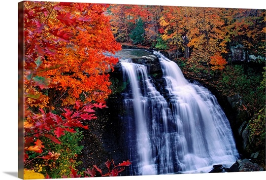 Waterfall in Cuyahoga National Recreation Area, Ohio