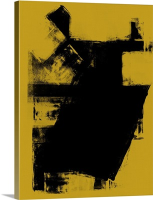 Abstract Black and Dijon Study