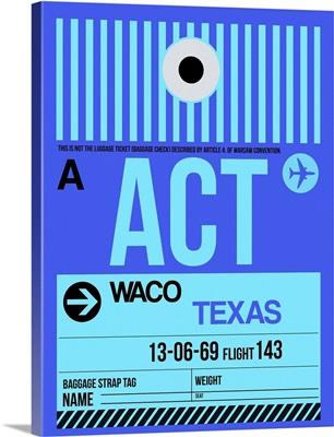ACT Waco Luggage Tag II