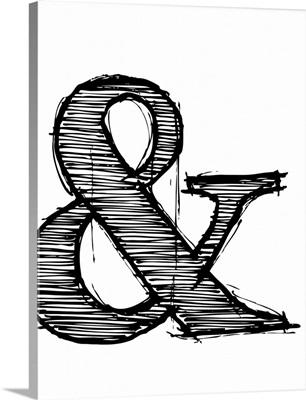 Ampersand Poster I