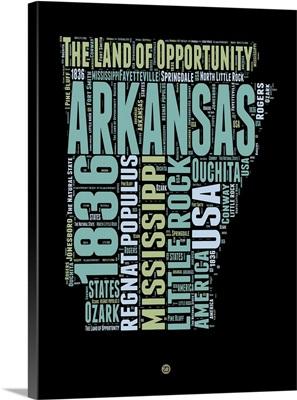 Arkansas Word Cloud I