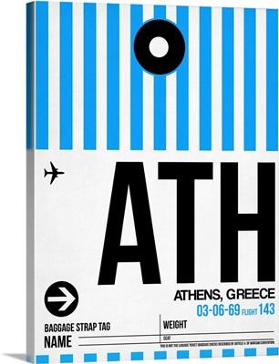 ATH Athens Luggage Tag I