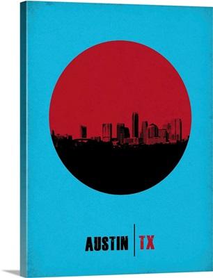 Austin Circle Poster I