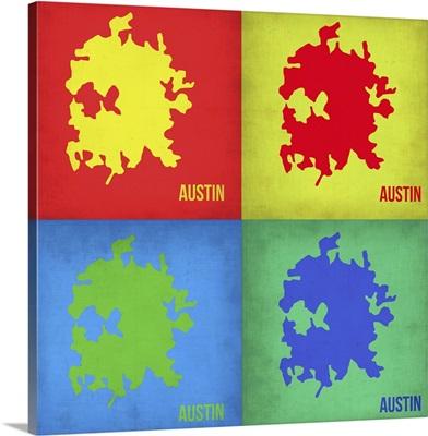 Austin Pop Art Map I