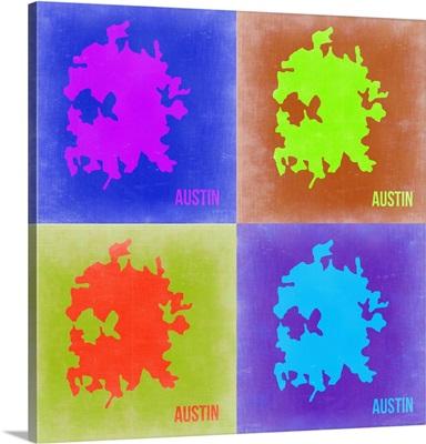 Austin Pop Art Map II