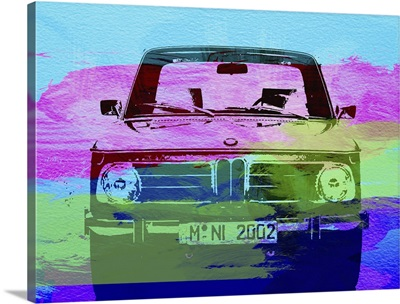 Bmw 2002 Front Watercolor I