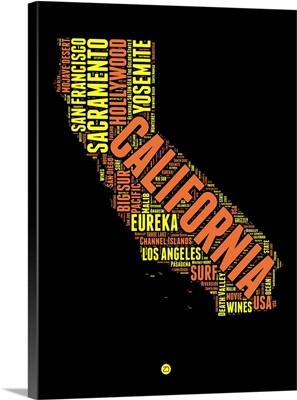 California Word Cloud I