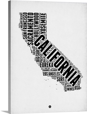 California Word Cloud II