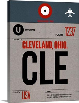 CLE Cleveland Luggage Tag I