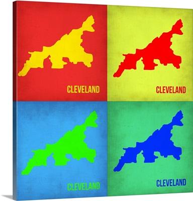 Cleveland Pop Art Map I
