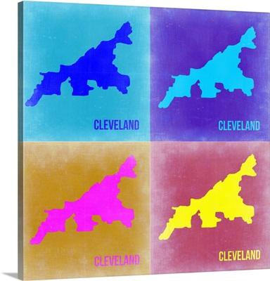 Cleveland Pop Art Map II
