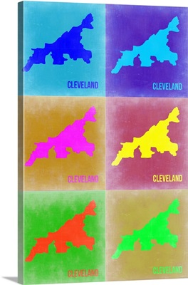 Cleveland Pop Art Map III