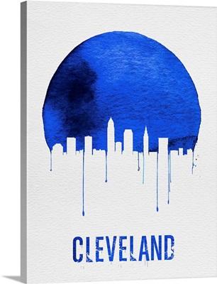 Cleveland Skyline Blue