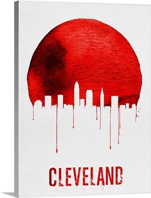 Cleveland Skyline Red