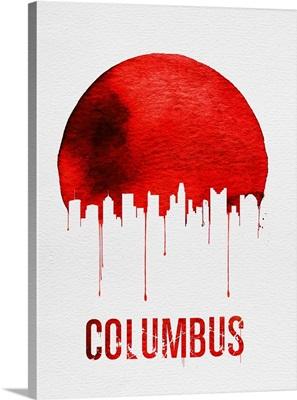 Columbus Skyline Red