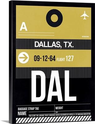 DAL Dallas Luggage Tag II