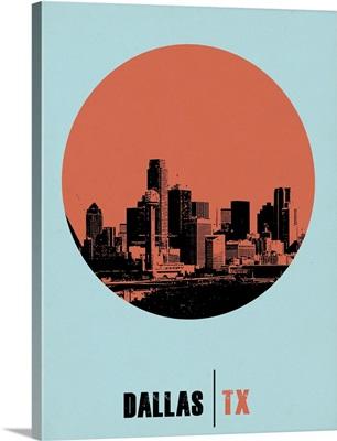 Dallas Circle Poster I