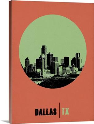 Dallas Circle Poster II