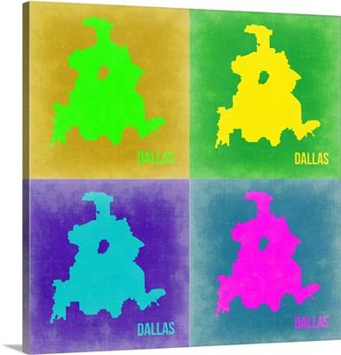Dallas Pop Art Map II