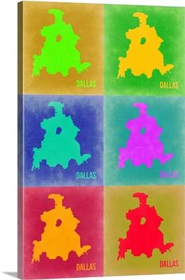 Dallas Pop Art Map III