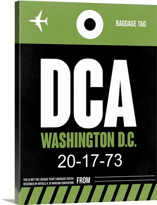 DCA Washington Luggage Tag II