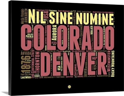 Denver Word Cloud I