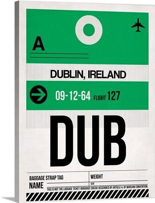 DUB Dublin Luggage Tag I